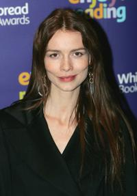 Saffron Burrows at the Whitbread Book Awards 2004.