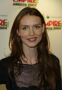 Saffron Burrows at the Sony Ericsson Empire Film Awards.