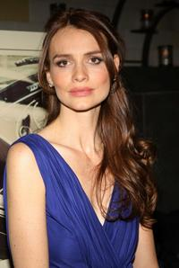 Saffron Burrows at the New York screening of