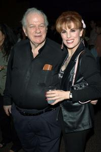 Charles Durning and Katharine Kramer at the Los Angeles world premiere of