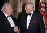 Charles Durning and Ernest Borgnine at the 7th Annual American Veteran Awards.