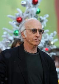 Larry David at the red carpet for the premiere of the
