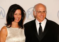Larry David and Laurie David at the 18th Annual Producer Guild Awards.