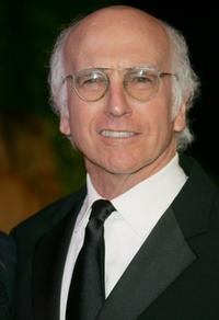 Larry David at the 2007 Vanity Fair Oscar Party.