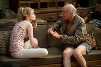 Evan Rachel Wood as Melody and Larry David as Boris in