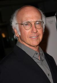 Larry David at the California premiere of