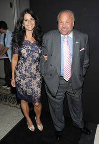 Bo Dietl and Guest at the Night of Style & Glamour to welcome newlyweds Kim Kardashian and Kris Humphries in New York City.
