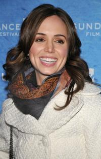 Eliza Dushku at the premiere of