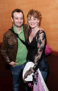 James Dreyfus and Samantha Bond at the after party of
