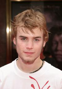 David Gallagher at the premiere of