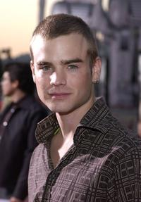 David Gallagher at the world premiere of
