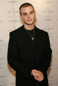 David Gallagher at the Baby Phat Pre Party during the Olympus Fashion week.