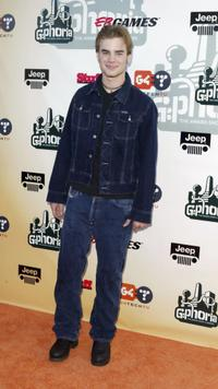 David Gallagher at the G-Phoria - The Award Show 4 Gamers.