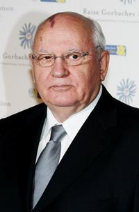Mikhail Gorbachev at the Raisa Gorbachev Foundation Party.