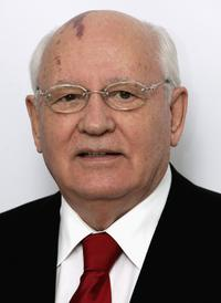 Mikhail Gorbachev at the Raisa Gorbachev Foundation Launch Party.