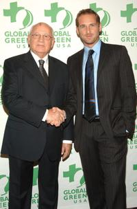 Mikhail Gorbachev and Josh Lucas at the 7th Annual Designing a Sustainable and Secure World Awards.