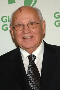 Mikhail Gorbachev at the 7th Annual Designing a Sustainable and Secure World Awards.