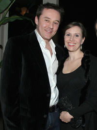 Currie Graham and Larissa Laskin at the Kathy Griffin's Annual Christmas Cocktail Bash Benefiting Toys for Tots in California.