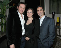 Currie Graham, Larissa Laskin and Guest at the Kathy Griffin's Annual Christmas Cocktail Bash Benefiting Toys for Tots in California.