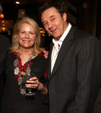 Candice Bergen and Currie Graham at the Boston Legal Wrap party in California.