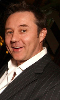 Currie Graham at the Boston Legal Wrap party in California.