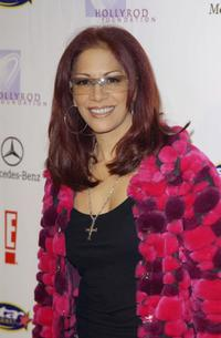 Sheila E. at the E Super Party benefiting the HollyRod Foundation.