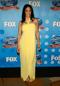 Sheila E. at the taping of Idol Gives Back.