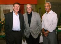 Steve Landesberg, Hal Linden and Ron Glass at the