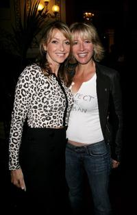 Sharon Maughan and Emma Thompson at the Secret Policeman's Ball.