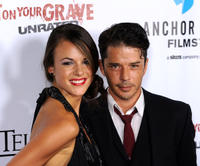 Sarah Butler and Rodney Eastman at the California premiere of