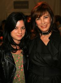 Anne Archer and StylistIlaria Urbinati at the Mercedes Benz Fashion Week held at Smashbox Studios.