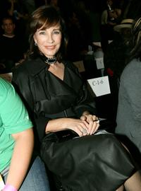 Anne Archer at the Whitley Kros Spring 2008 fashion show during Mercedes Benz Fashion Week held at Smashbox Studios.