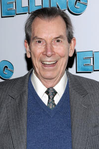 Richard Easton at the after party of the Broadway opening night of