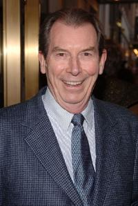 Richard Easton at the Broadway Opening of
