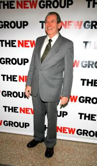 Richard Easton at the New Group's 2008 Gala.