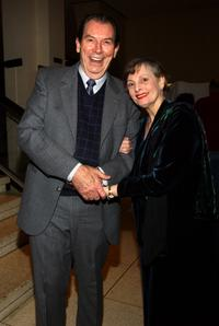 Richard Easton and Dana Ivey at the opening of