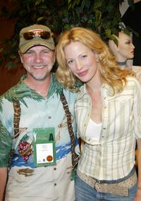 Alison Eastwood and Brian Prout at the Academy of Country and Music Country Music Awards Tempur-Pedic Talent Lodge.