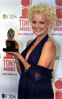 Christine Ebersole at the 2001 Tony Awards at Radio City Music Hall in New York City.