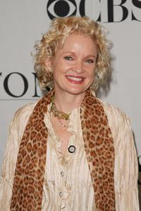 Christine Ebersole at the 2007 Tony Awards nominees press reception at the Marriott Marquis.