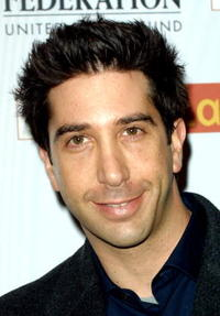 David Schwimmer at the Jewish Federation Premiere Hanukkah Party.