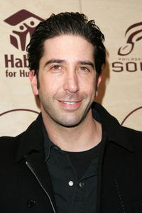 David Schwimmer at the Benefit Hosted by Kenneth Cole And Jon Bon Jovi