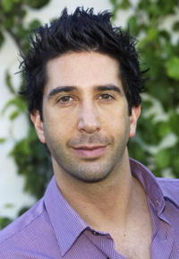 David Schwimmer at the Second Annual Stuart House Benefit.