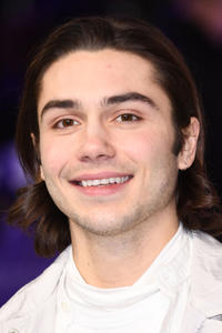 George Shelley at the UK premiere of