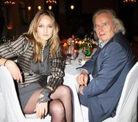 Leelee Sobieski and Jean Sobieski at the private dinner for the Gagosian Gallery Opening of