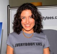 Lisa Edelstein at the announcement of the creation of exclusive