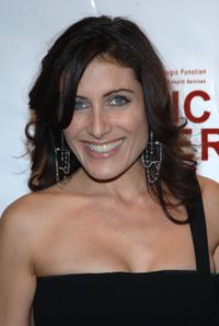Lisa Edelstein at the Music Has Power Awards Benefit.