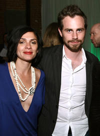 Director Alexandra Barreto and Rider Strong at the Tribeca Film Festival wrap party in New York.