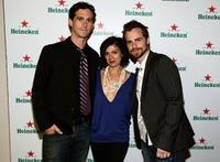 Shiloh Strong, Alexandra Barreto and Rider Strong at the Tribeca Film Festival wrap party in New York.