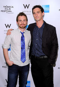 Rider Strong and Shiloh Strong at the Tribeca Film Festival Awards in New York.