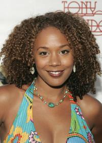 Rachel True at the reunion concert and DVD premiere of the musical group Tony Orlando and Dawn.